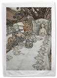 Alice in Wonderland - Mad Tea Party Tea Towel Sjove ting