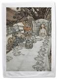 Alice in Wonderland - Mad Tea Party Tea Towel Regalos