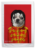 Pets Rock Pop Tea Towel Novelty