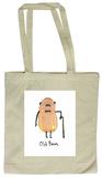 Doodles - Old Bean Tote Bag Sac cabas