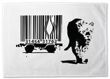 Barcode Tea Towel Originalt