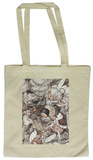 Alice in Wonderland - In the Kitchen Tote Bag Draagtas