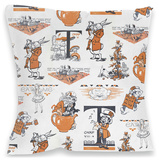 Alice in Wonderland Cushion Throw Pillow