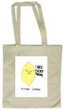 Doodles - Bitter Lemon Tote Bag Bolsa de tela