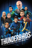 Thunderbirds Are Go- Character Collage Láminas