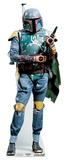 Star Wars - Boba Fett Mini Cardboard Cutout Silhouettes découpées en carton