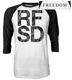 Refused- RFSD Freedom Raglan Raglans
