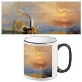 John M W Turner - The Fighting Temeraire Mug Krus