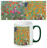 Gustav Klimt - Flower Garden Mug Mug