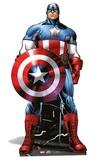 Marvel - Captain America Mini Cardboard Cutout Pappfigurer