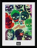 Suicide Squad Skulls Collector Print