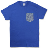 Descendents- Milo Pattern Grey Pocket T-shirts