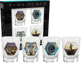 Pink Floyd Series 2 Shot Glass Set Novelty