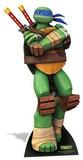 TMNT - Leonardo Mini Cardboard Cutout Figuras de cartón