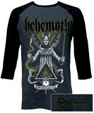 Raglan: Behemoth- Disintegrate (Front/Back) Raglans