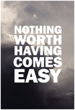 Nothing Worthy In The Clouds Posters