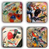 Wassily Kandinsky Coaster Set 17 Coaster