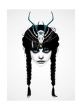 Wakeful Warrior Premium Giclee Print by Ruben Ireland