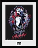 Suicide Squad Harley Quinn Monster Wydruk kolekcjonerski