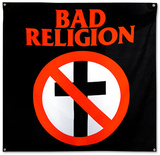 Bad Religion- Crossbuster Flag Prints