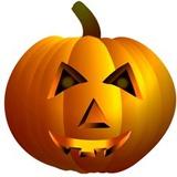 Seasonal - Pumpkin Cardboard Cutout Silhouettes découpées en carton