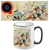 Wassily Kandinsky - Composition VIII Mug Taza
