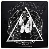 Panic! At The Disco- Photo Galaxy Flag アートポスター