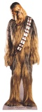 Star Wars - Chewbacca Mini Cardboard Cutout Silhouettes découpées en carton