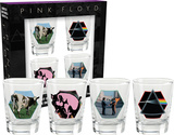 Pink Floyd Series 1 Shot Glass Set Novelty