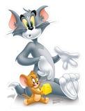 Tom & Jerry - Tom & Jerry Cheese Cardboard Cutout Silhouettes découpées en carton