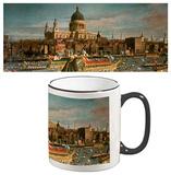 Giovanni Antonio Canaletto - London Thames St Pauls Catherdral Mug Krus