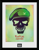 Suicide Squad Rick Flag Skull Verzamelaarsprint