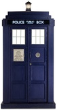 Doctor Who - Tardis Mini Cardboard Cutout Silhouettes découpées en carton
