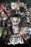Suicide Squad- Circle Of Bad Prints