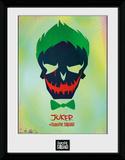 Suicide Squad Joker Skull Wydruk kolekcjonerski
