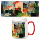 August Macke - The Bright House Mug Krus