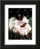 Guardian Angel I Prints by T Richard