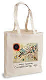 Wassily Kandinsky - Composition VIII, 1923 Tote Bag Tragetasche