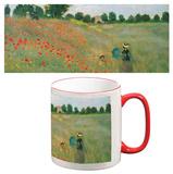 Claude Monet - Poppyfield Mug - Mug
