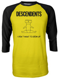 Descendents-I Don't Want To Grow Up Raglan T-Shirt