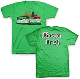 Dropkick Murphy's- Boston Irish Collage (Front/Back) T-Shirt