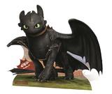 How To Train Your Dragon - Toothless Mini Cardboard Cutout Silhouettes découpées en carton