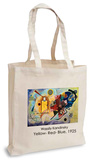 Wassily Kandinsky - Yellow-Red-Blue, 1925 Tote Bag Indkøbstaske
