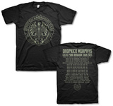 Dropkick Murphy's- Celtic Punk Invasion 2015 Tour (Front/Back) Camisetas