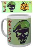 Suicide Squad - Flag Skull Mug Mok