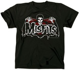 The Misfits- Batfiend Red Cape T-shirts