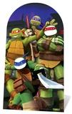 Teenage Mutant Ninja Turtles - Turtles Stand-In Silhouettes découpées en carton