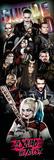 Suicide Squad- Tight Crew Reprodukcje