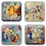 Wassily Kandinsky Coaster Set 15 Coaster