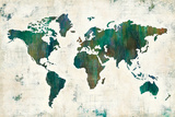 Discover the World Prints by Melissa Averinos